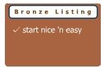 Bronze listing